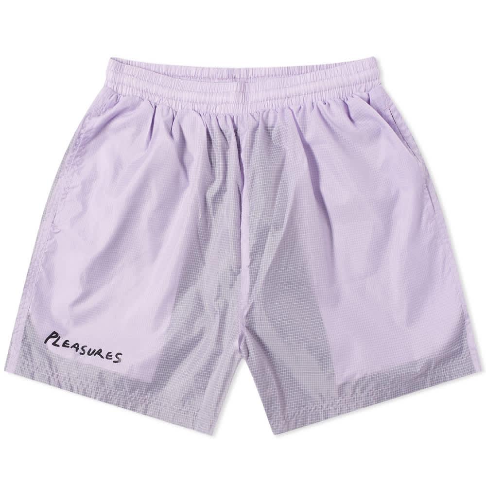 Pleasures VCR Active Shorts - Lavender