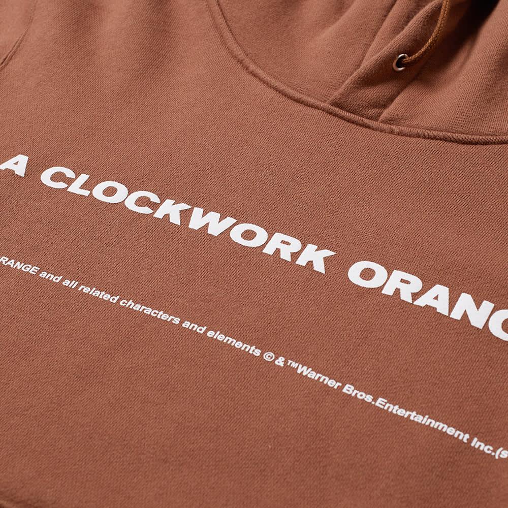 Undercover x A Clockwork Orange Popover Hoody - Brown