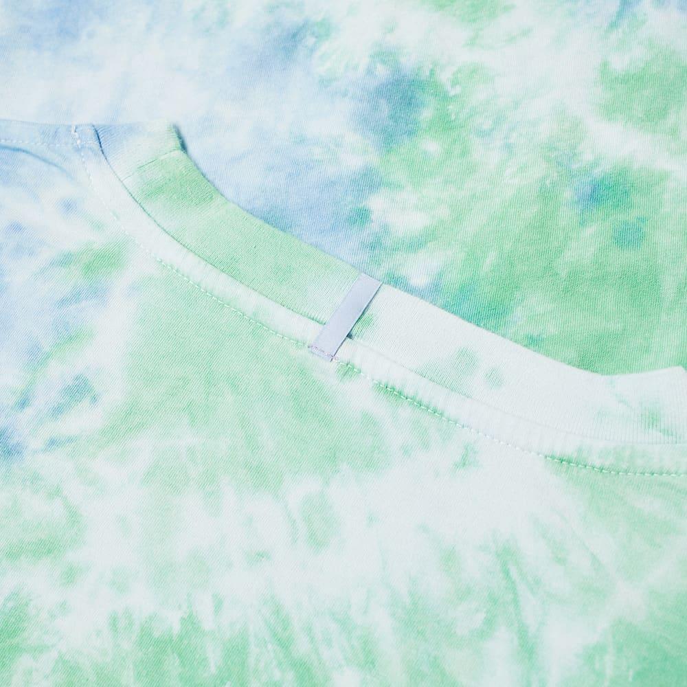 MCQ Regular Fit Tie Dye Tee - Ocean Blue & Blarney