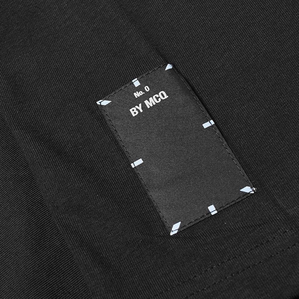 MCQ Regular Fit Tee - Darkest Black