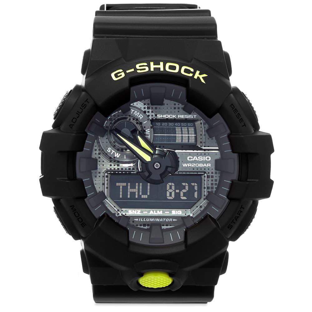 Casio G-Shock GA-700DC Digi Camo Watch - Black