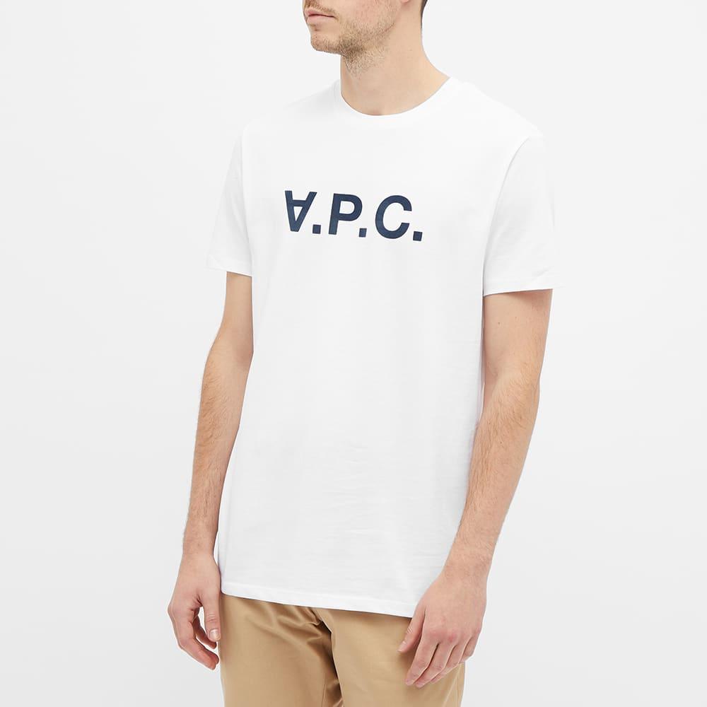 A.P.C. VPC Logo Tee - White