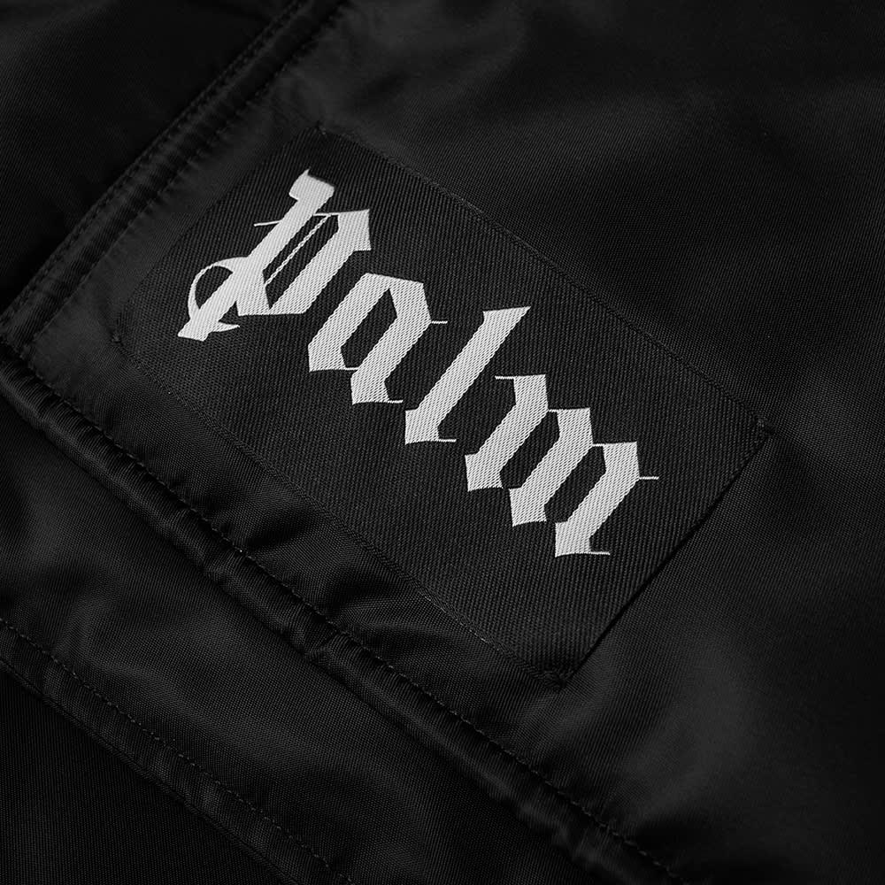 Palm Angels Curved Logo Gilet - Black & White