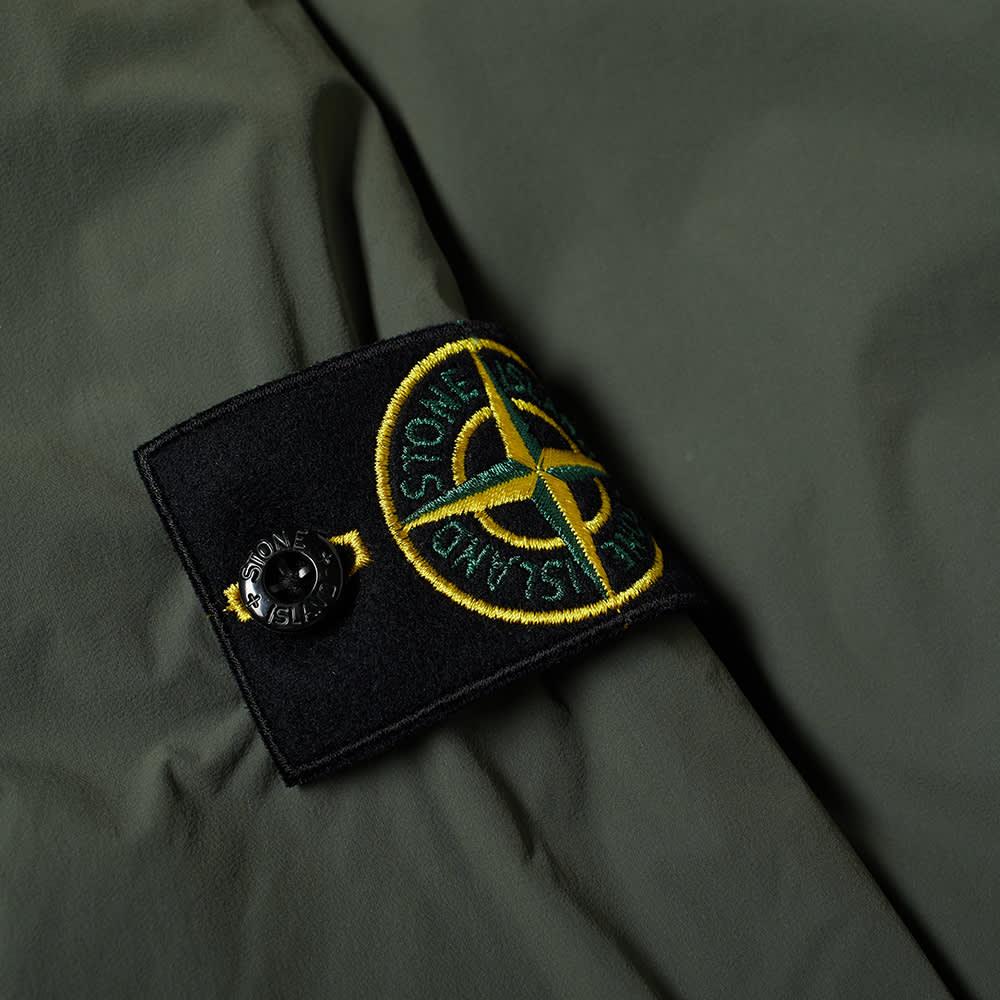 Stone Island Composite Polartec Hooded Jacket - Sage