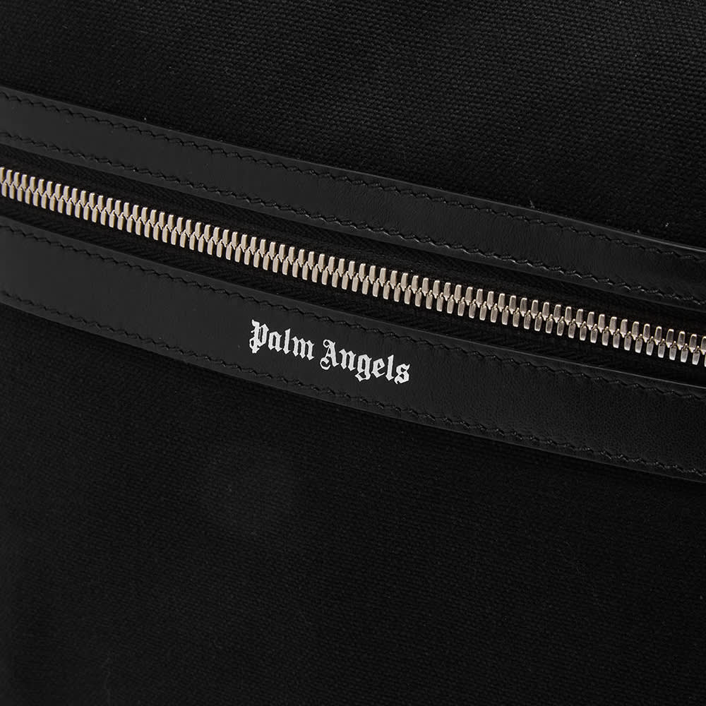 Palm Angels Classic Logo Backpack - Black & Silver