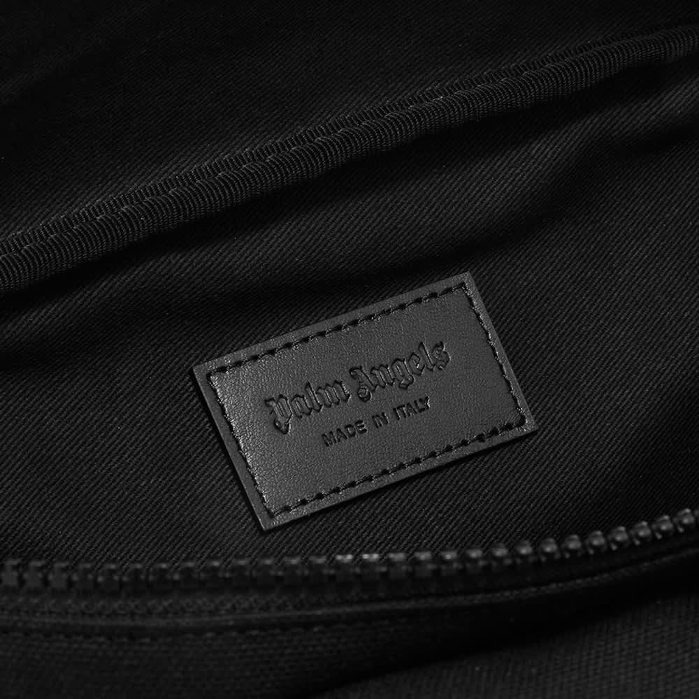 Palm Angels Logo Waist Bag - Black & White