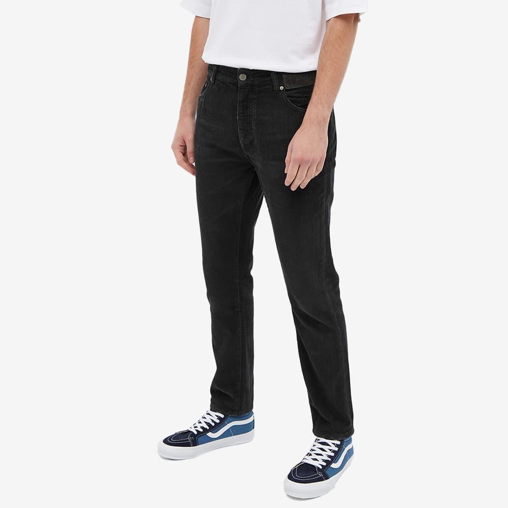 Palm Angels Logo Cord Trouser - Black