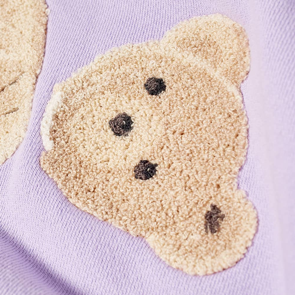 Palm Angels Kill The Bear Popover Hoody - Lilac & Brown