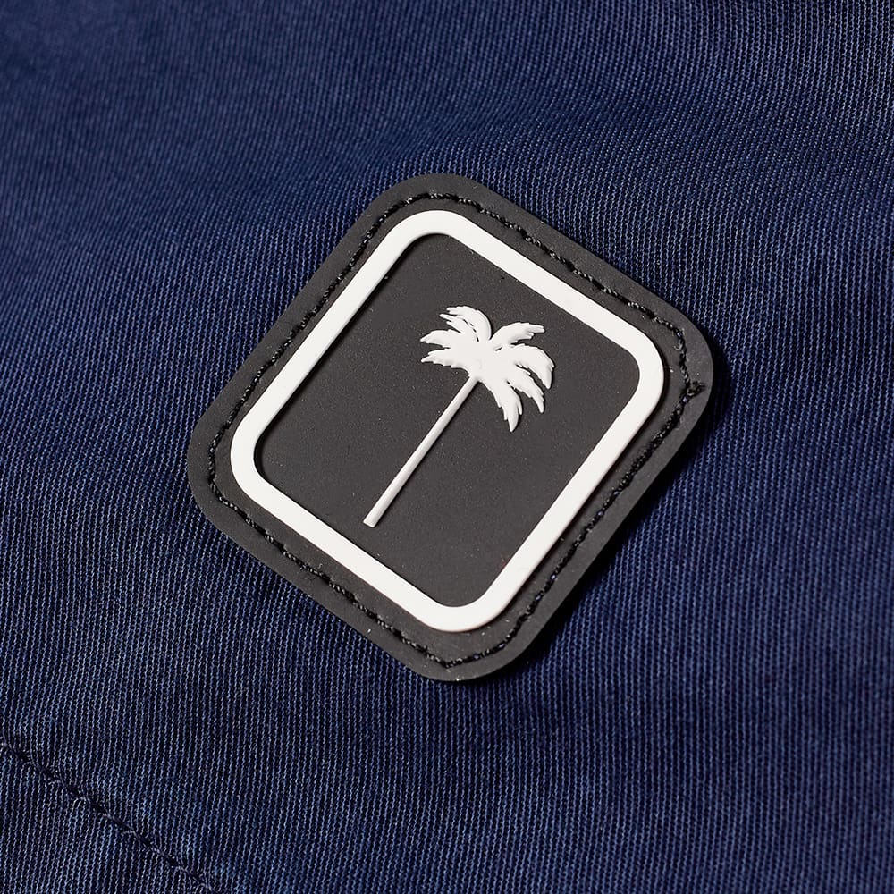 Palm Angels Chino Short - Blue & White
