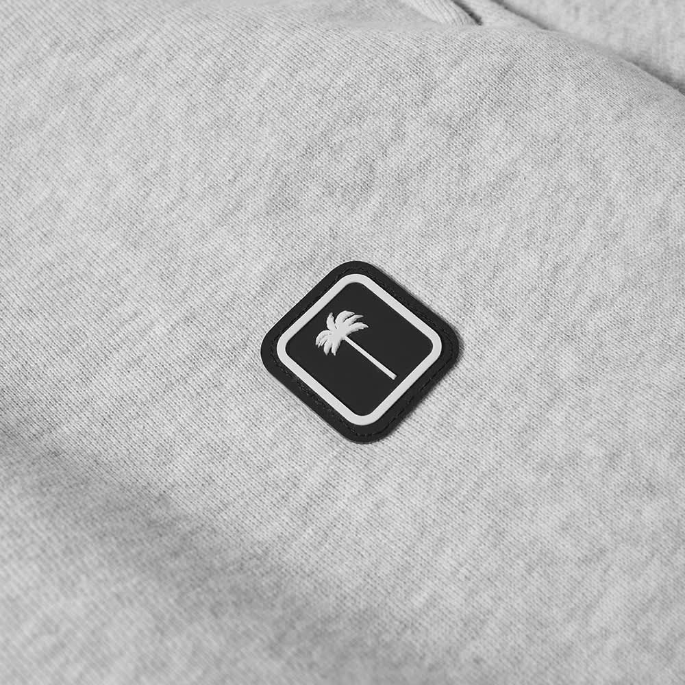 Palm Angels Patch Logo Sweat Pant - Grey & White