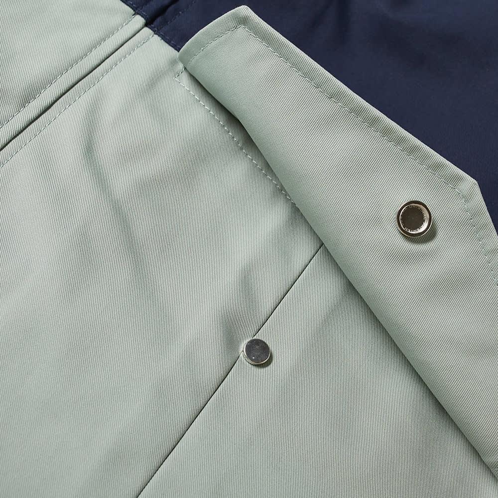 JW Anderson Colourblock Puller Parka - Blue & Green