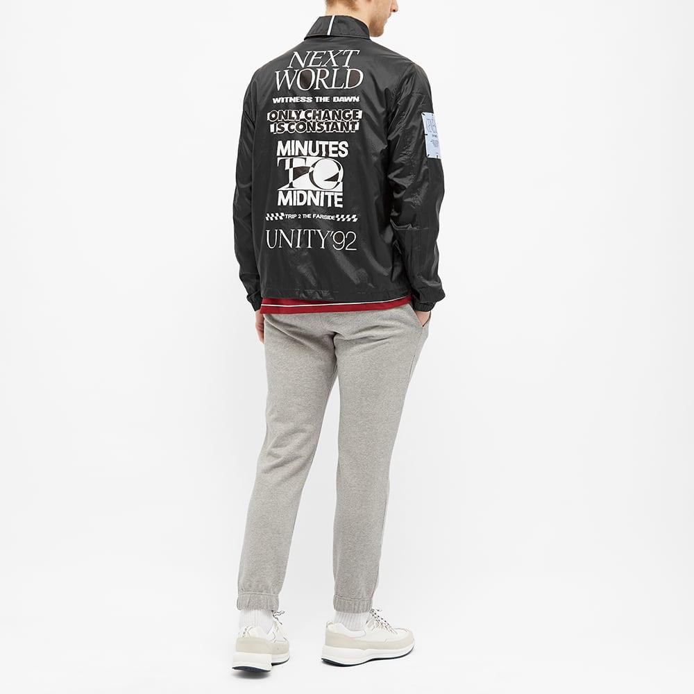 MCQ Back Print Coach Jacket - Darkest Black