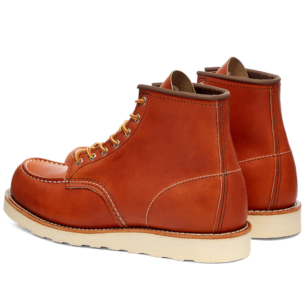 """Red Wing 875 Heritage Work 6"""" Moc Toe Boot - Oro-Legacy"""