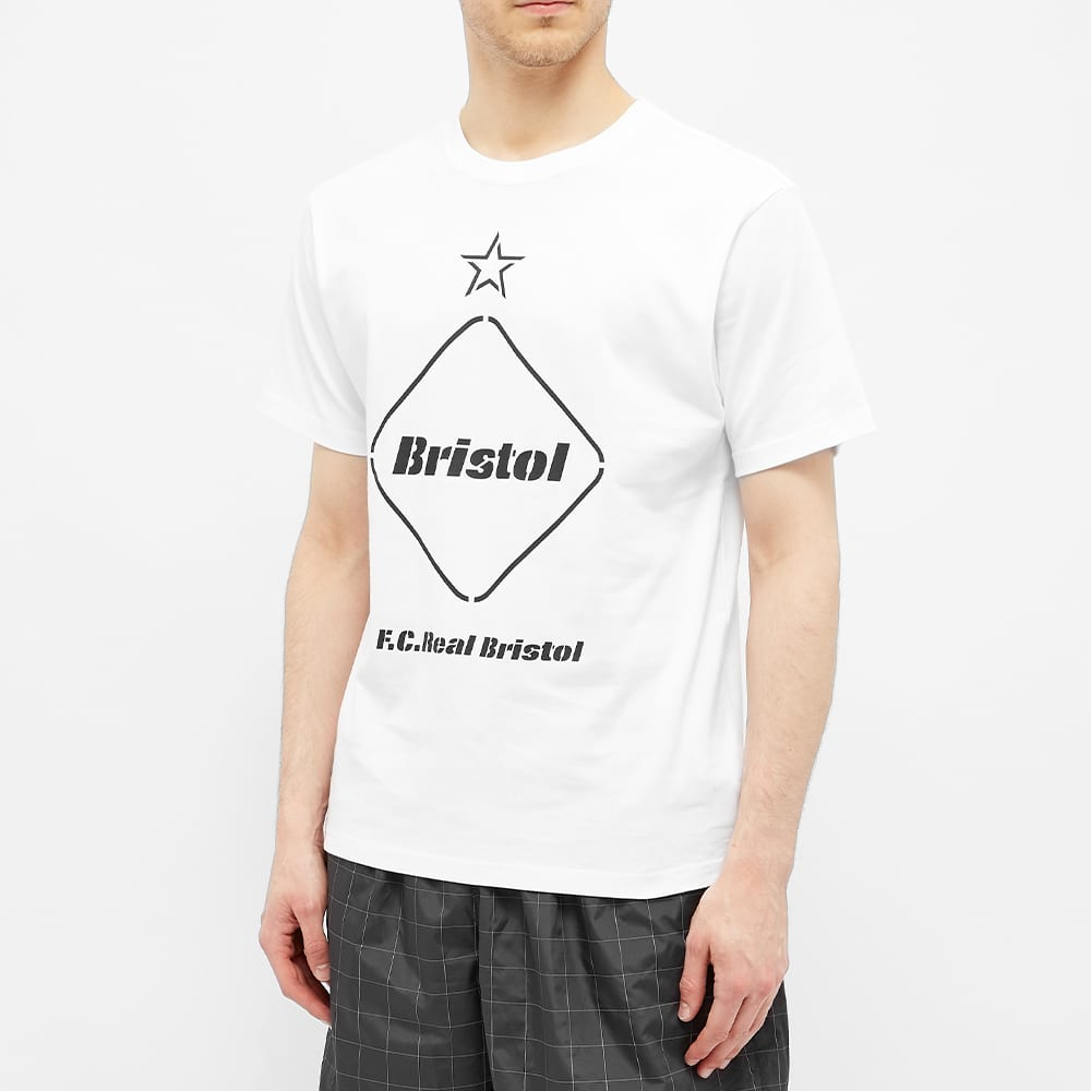F.C. Real Bristol Emblem Tee - White