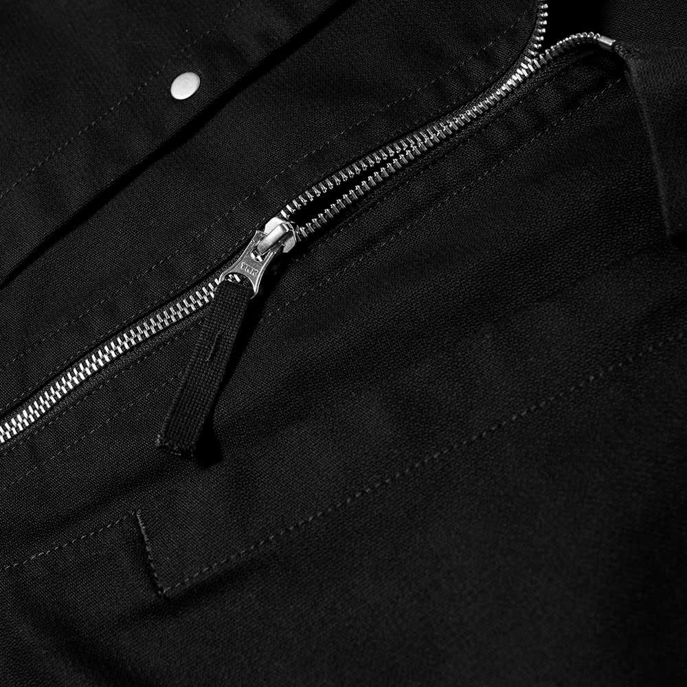 Stone Island Shadow Project Zip Through Overshirt - Black