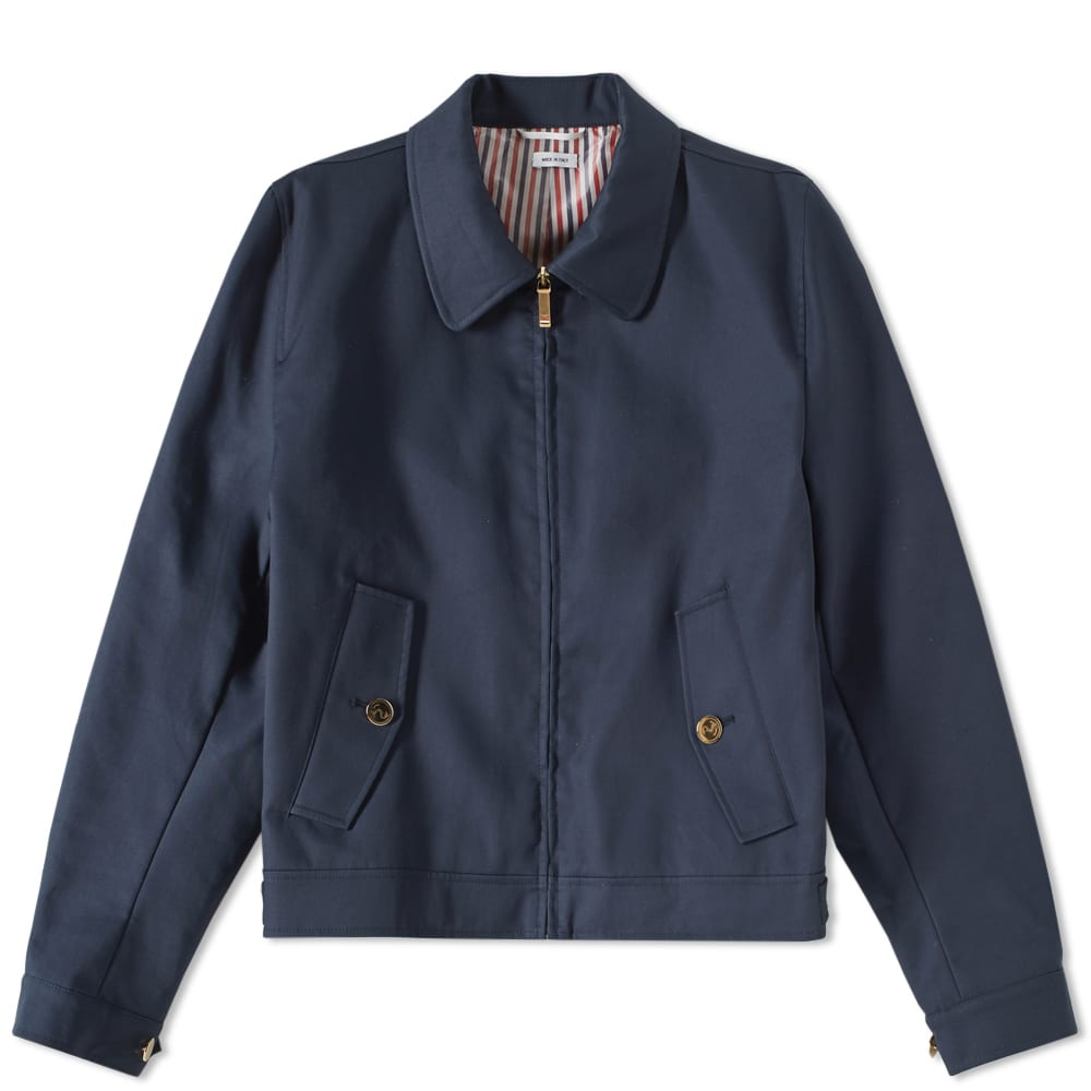 Thom Browne Mackintosh Harrington Jacket - Navy