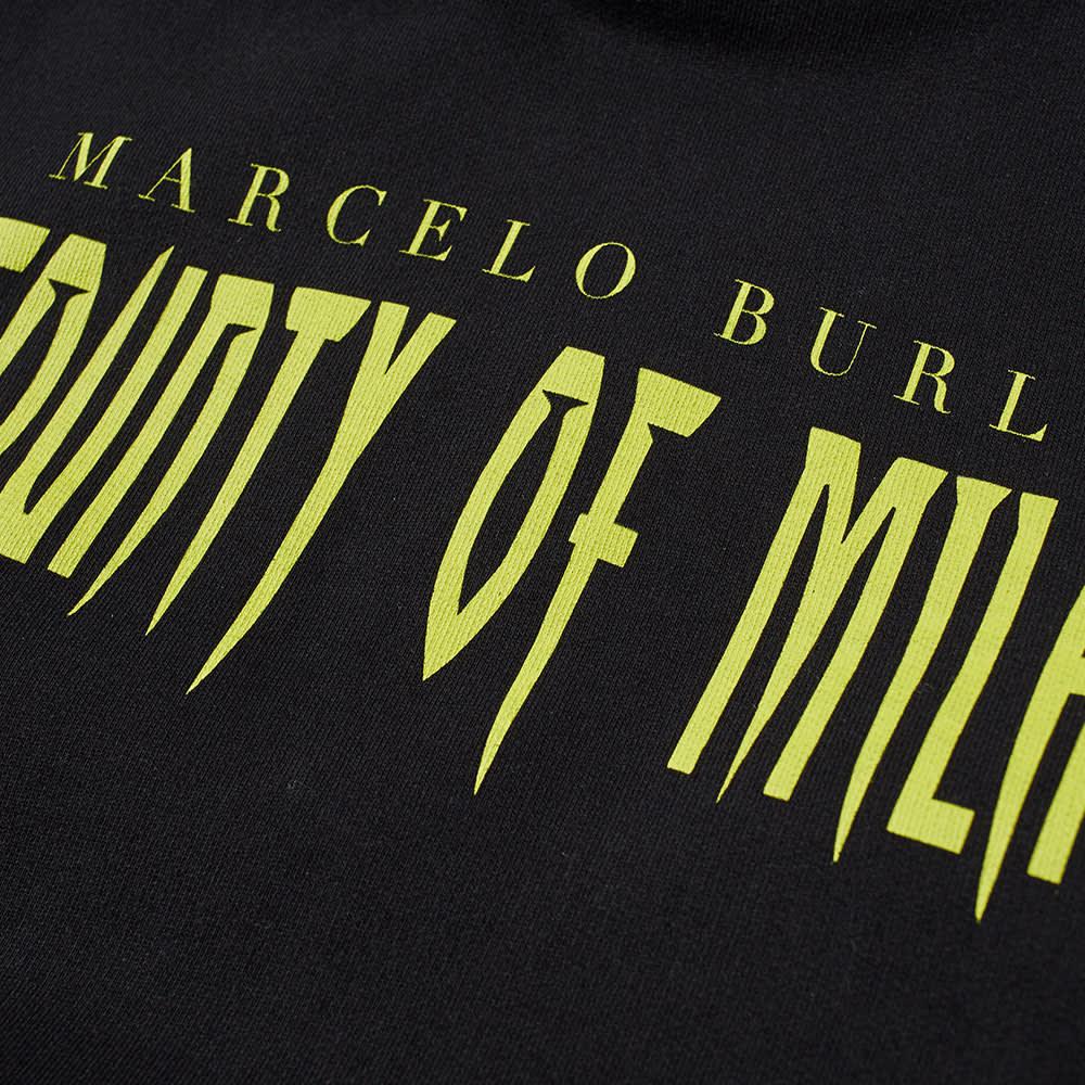 Marcelo Burlon Sleepwalker Popover Hoody - Black & MultI