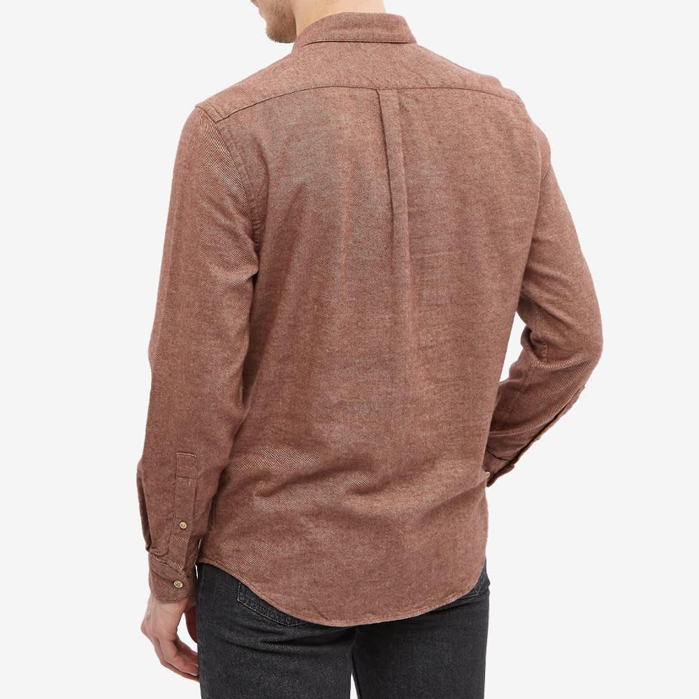 Portuguese Flannel Teca Flannel Shirt - Cinammon