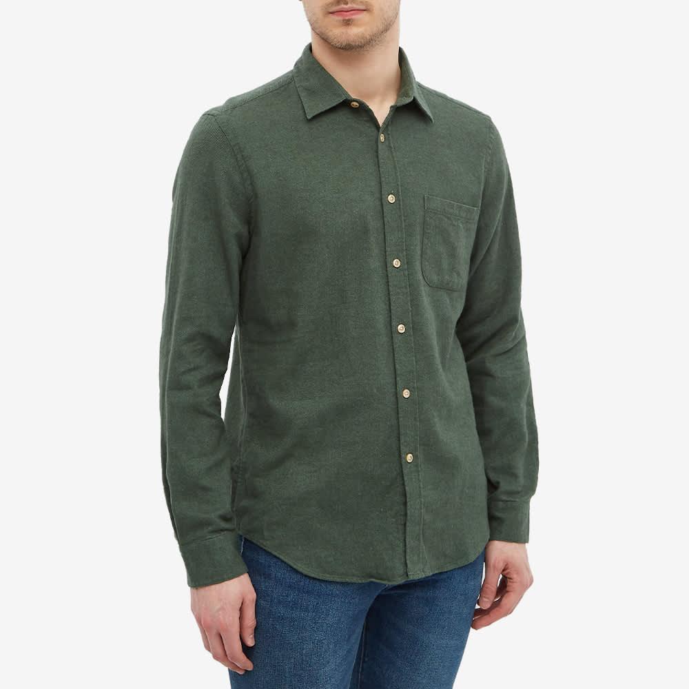 Portuguese Flannel Teca Flannel Shirt - Green