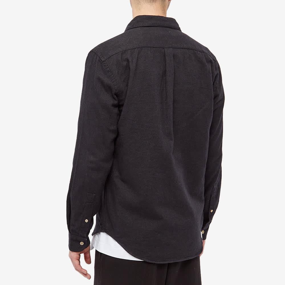 Portuguese Flannel Teca Flannel Shirt - Grey