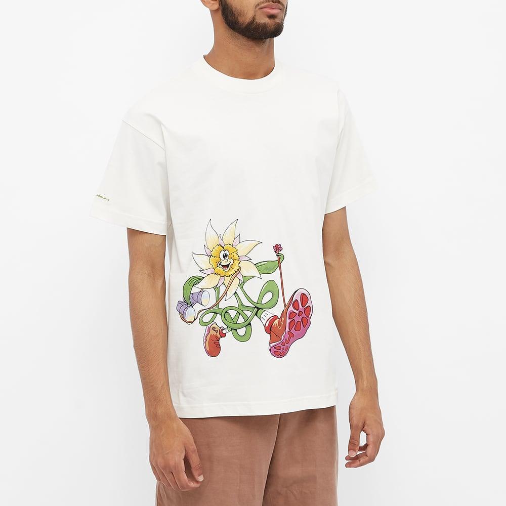 Jacquemus Flower Hiker Tee - Off White