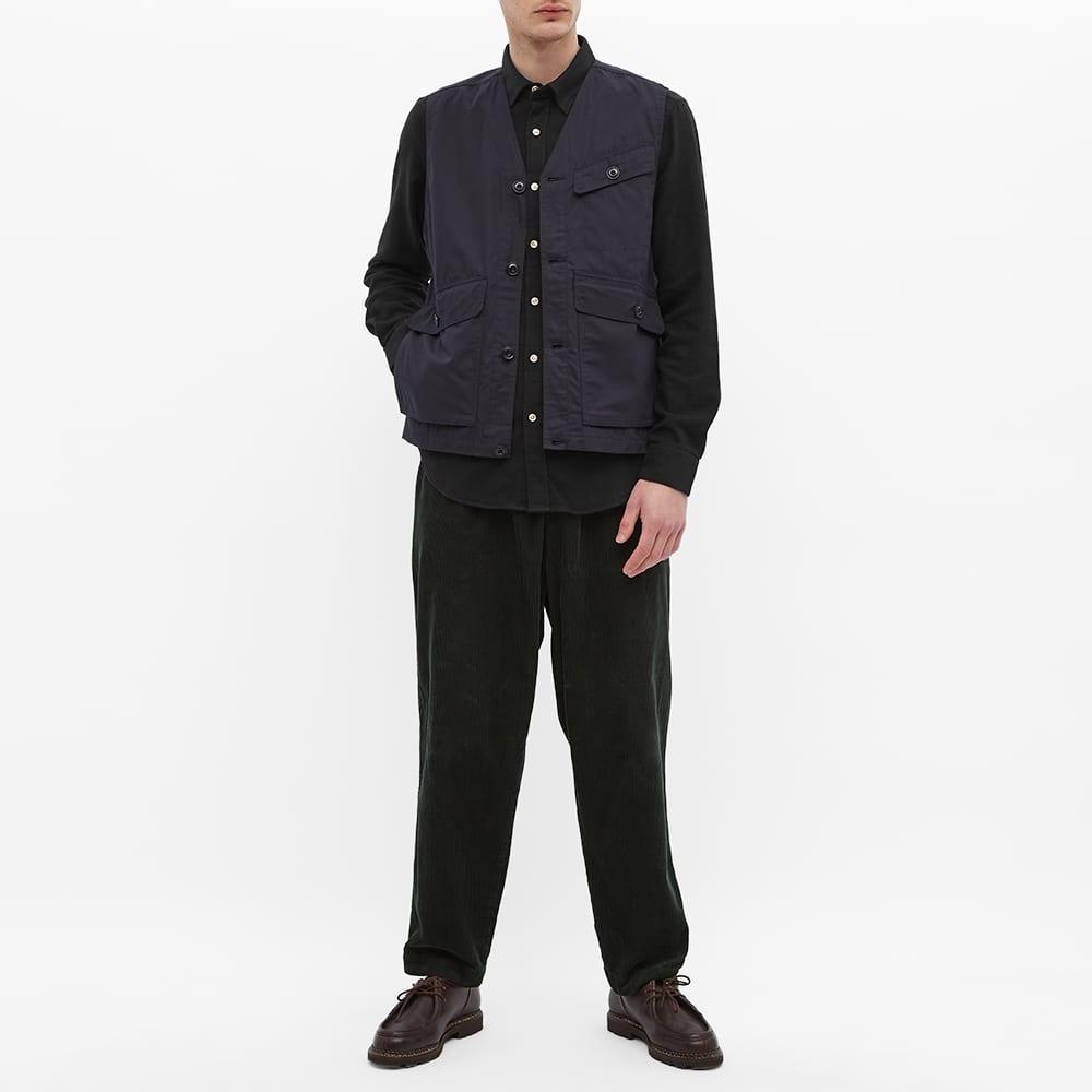 Portuguese Flannel Teca Flannel Shirt - Black