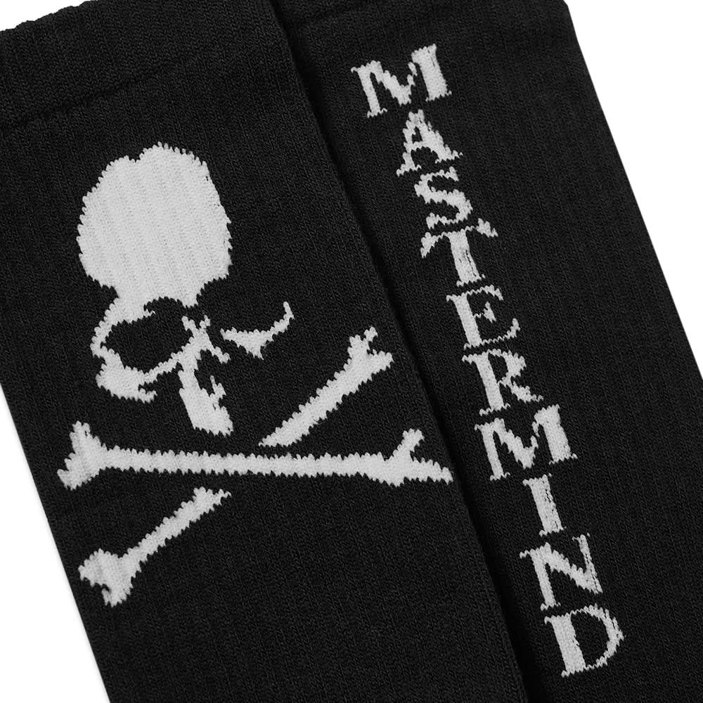 MASTERMIND WORLD Skull Socks C - Black