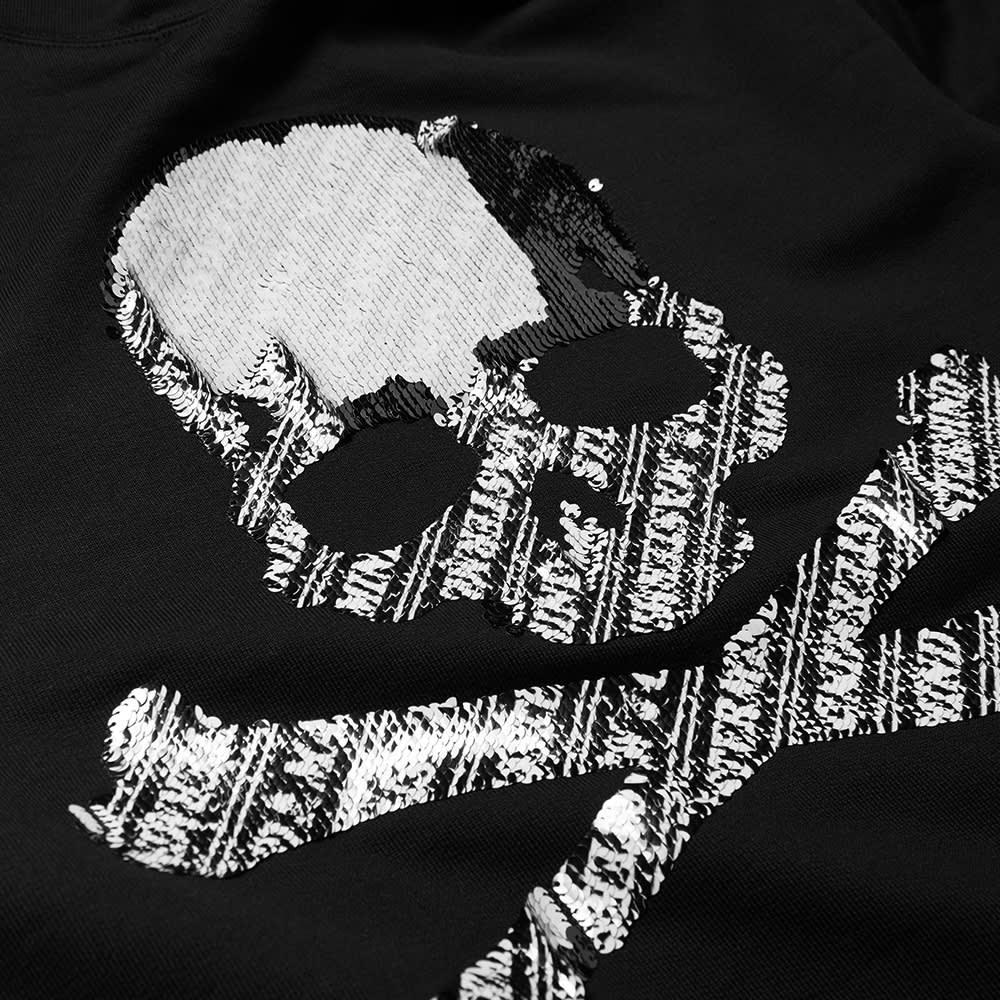 MASTERMIND WORLD Sequin Double Logo Popover Hoody - Black