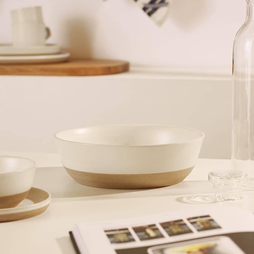 KINTO CLK-151 Large Ceramic Bowl - White 1600ml