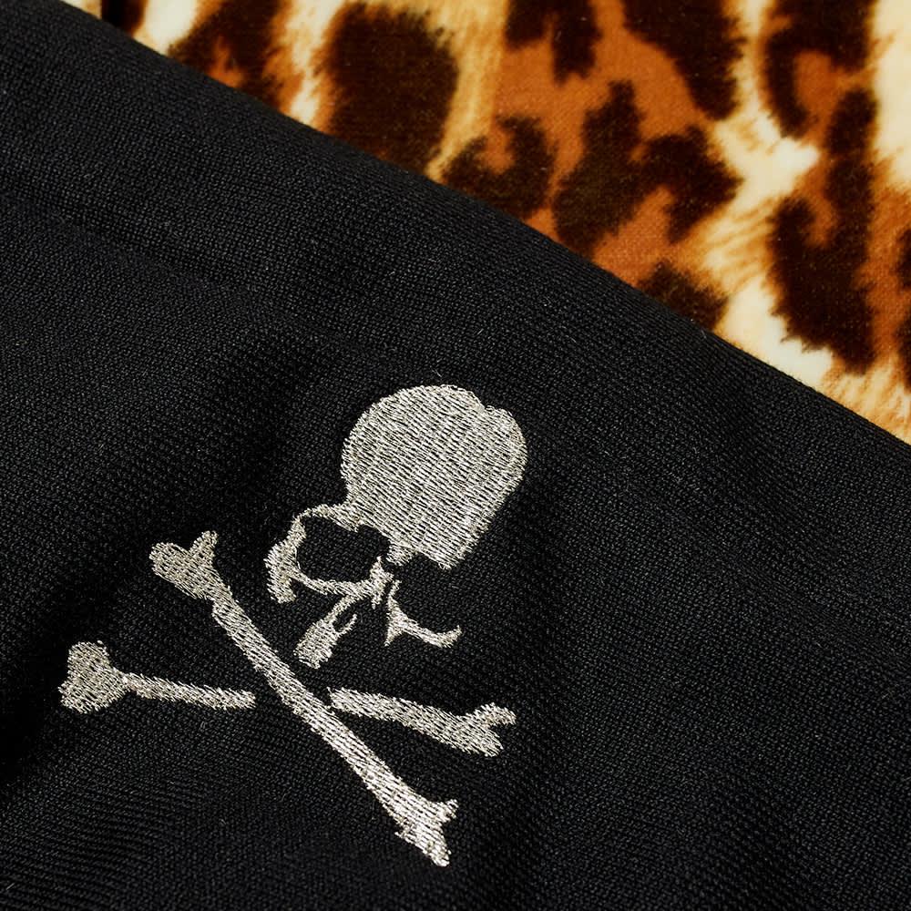 MASTERMIND WORLD Hooded Leopard Print Overshirt - Leopard