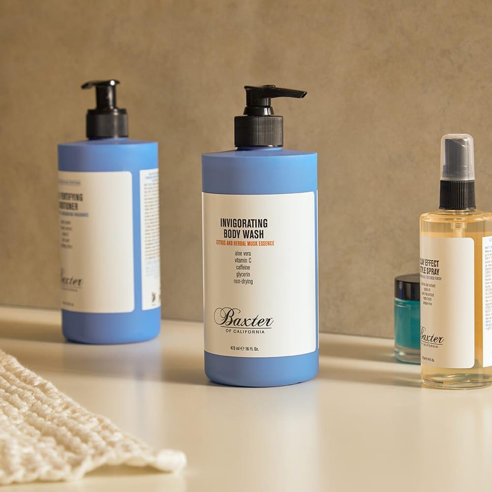 Baxter of California Body Wash - Citrus & Herbal Musk - 473ml