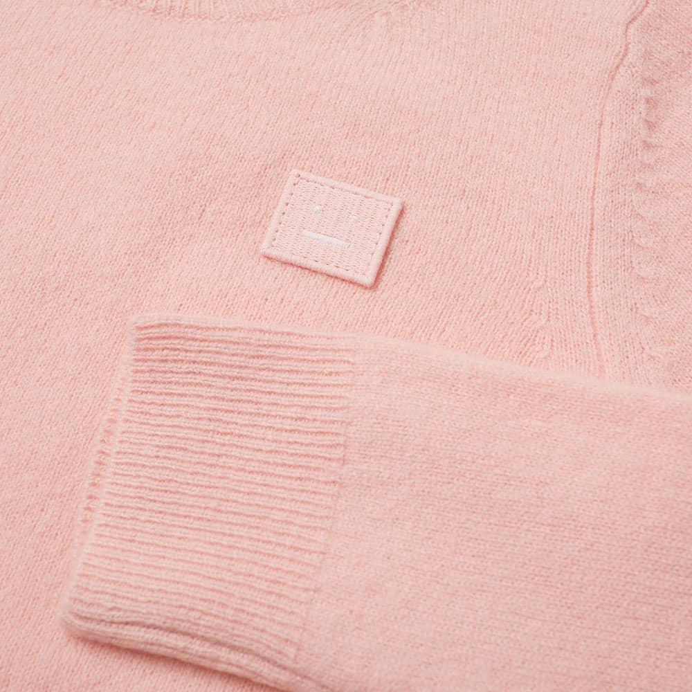 Acne Studios Mini Kalon Face Crew Knit - Blush Pink