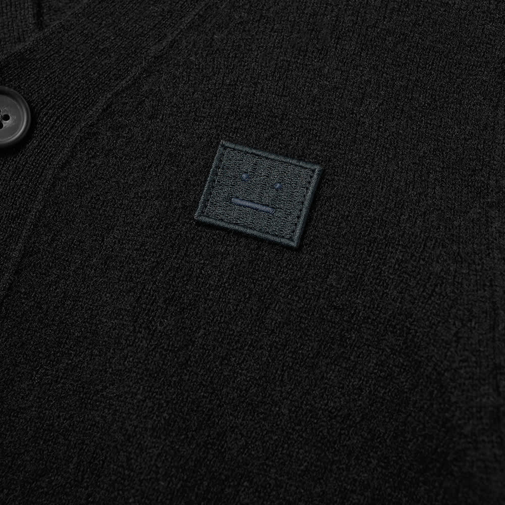 Acne Studios Mini Keve Face Cardigan - Black