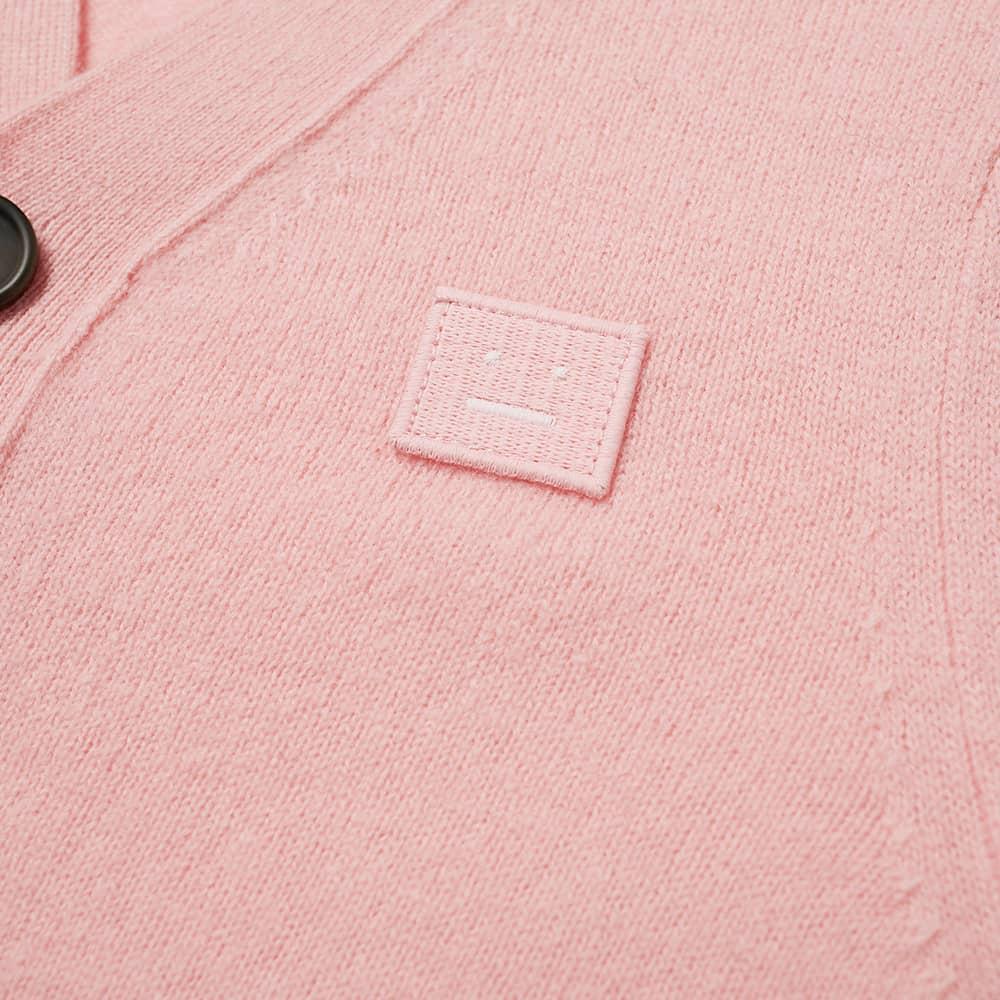 Acne Studios Mini Keve Face Cardigan - Blush Pink