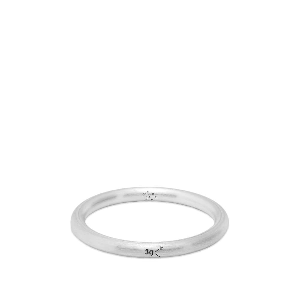 Le Gramme Brushed Bangle Ring - Silver 3g