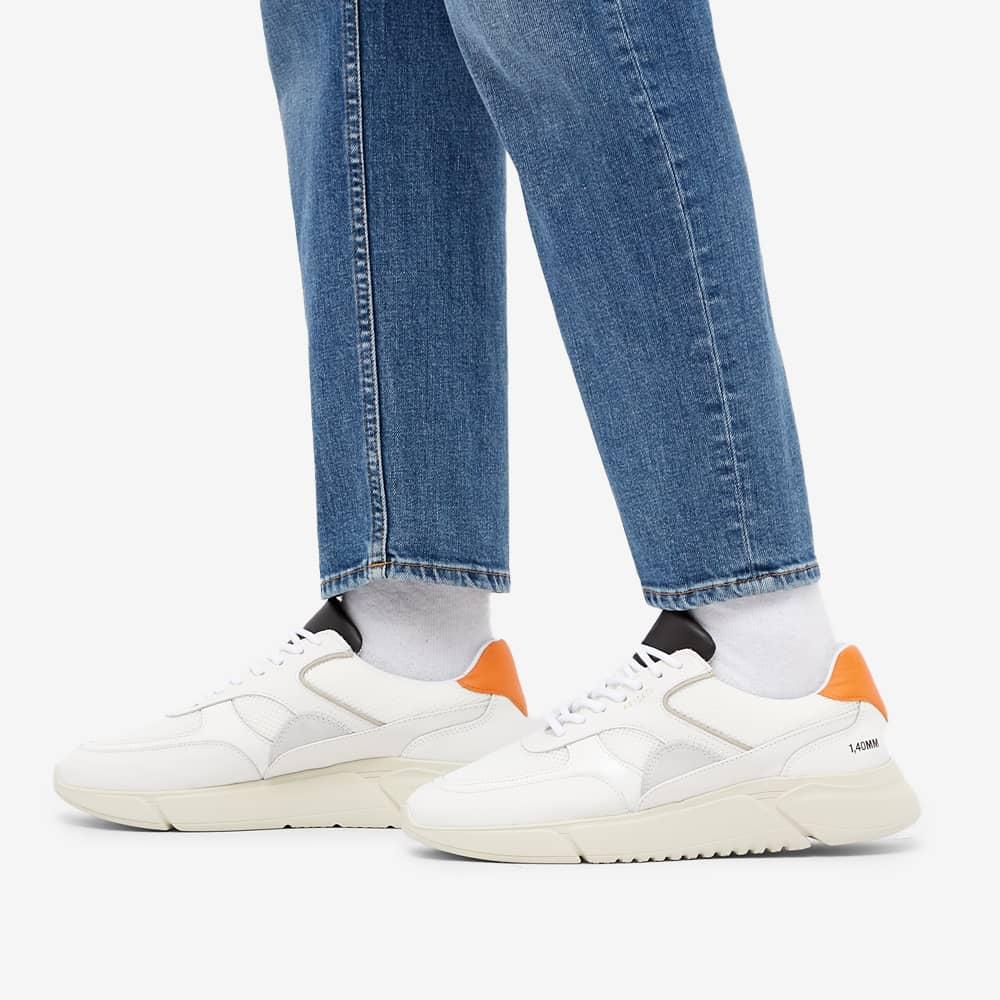 Axel Arigato Genesis Triple Sneaker - Orange, Black & Neon Green