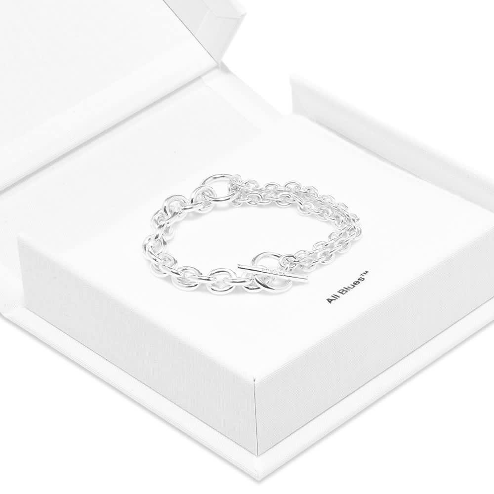 All Blues Double Bracelet - Sterling Silver