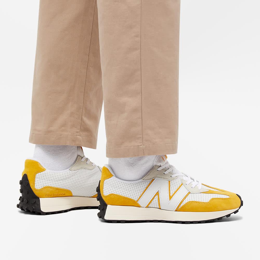 New Balance MS327PG - White & Yellow