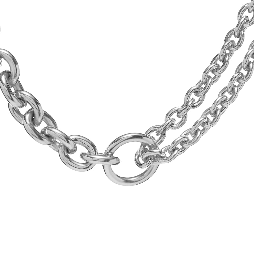 All Blues Double Necklace - Silver