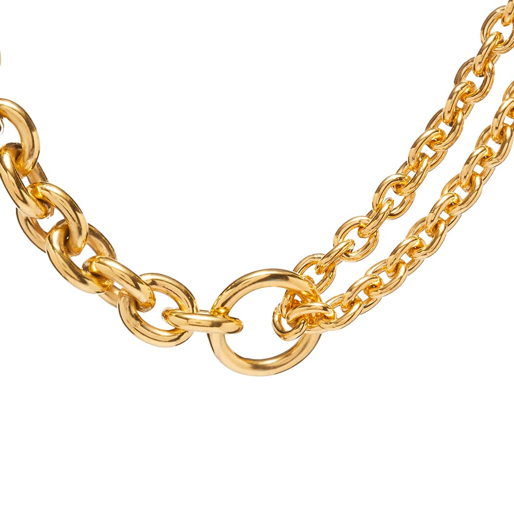 All Blues Double Necklace - Gold