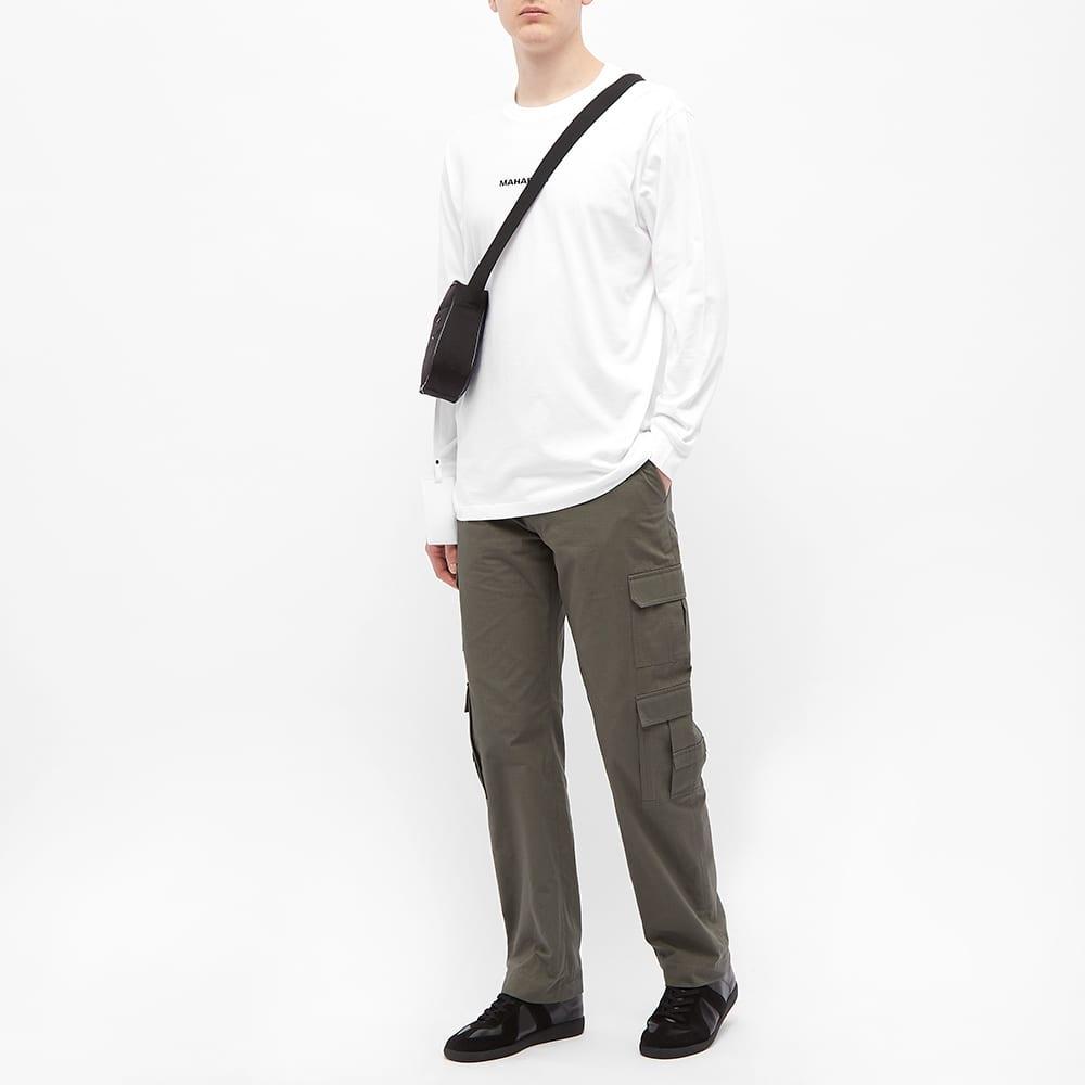 Maharishi Long Sleeve Classic Tee - White