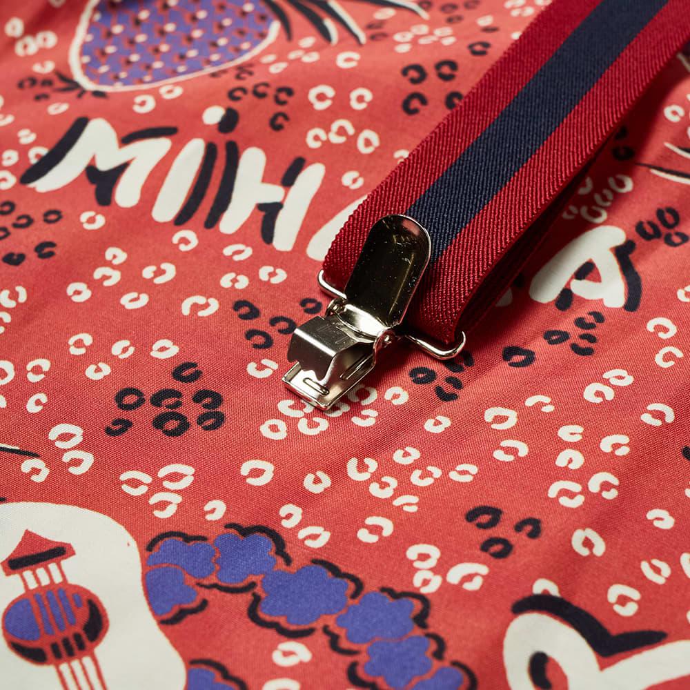 Maison MIHARA YASUHIRO Hawaiian Shirt - Red