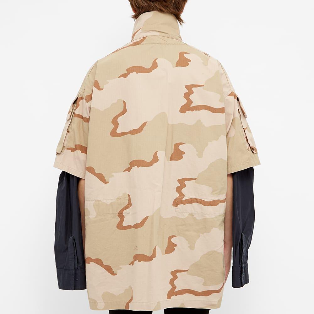 Maison MIHARA YASUHIRO Double Face Camo Overshirt - Beige