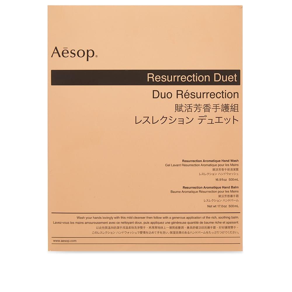 Aesop Resurrection Duet - 2 x 500ml