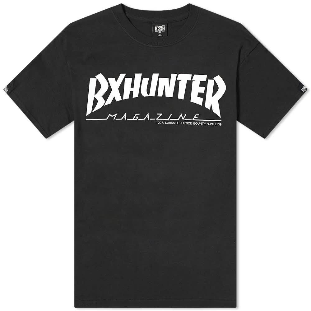 Bounty Hunter Magazine Tee - Black & White