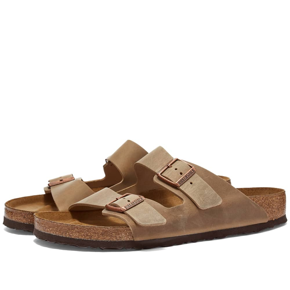 Birkenstock Arizona - Tobacco Brown Oiled Leather