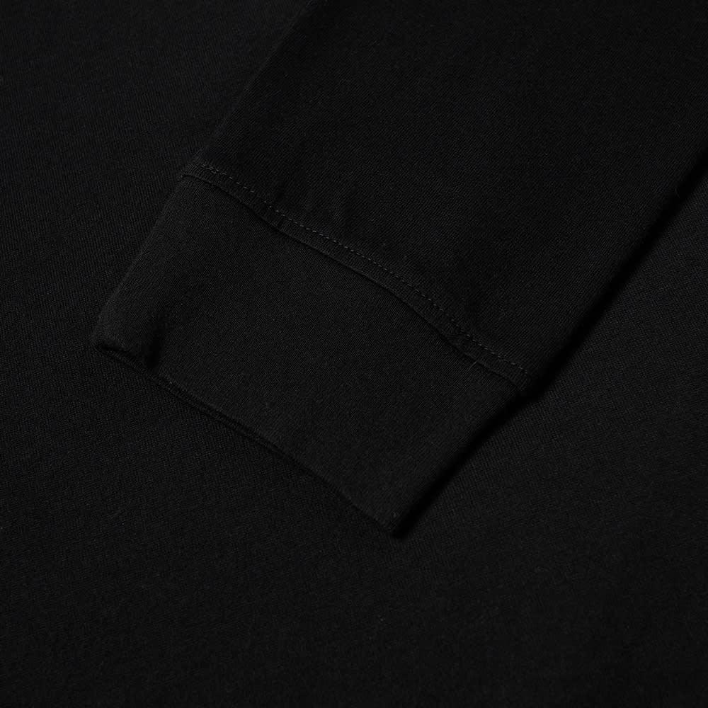 Undercover Long Sleeve Withdrawl Rose Tee - Black