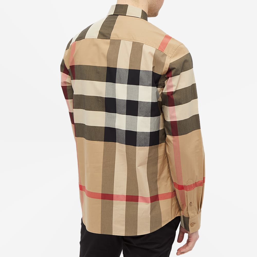 Burberry Somerton Large Check Shirt - Archive Beige Check