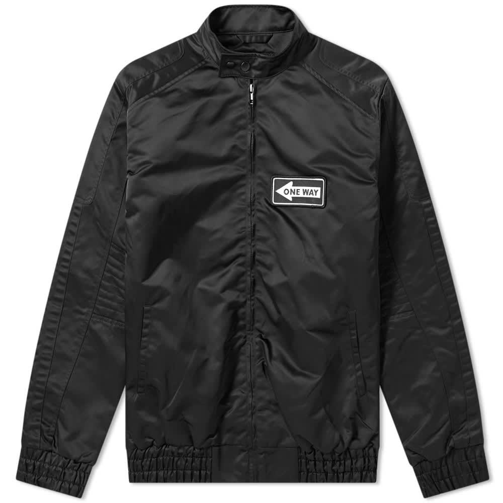 Liam Hodges Nylon Racer Jacket - Black