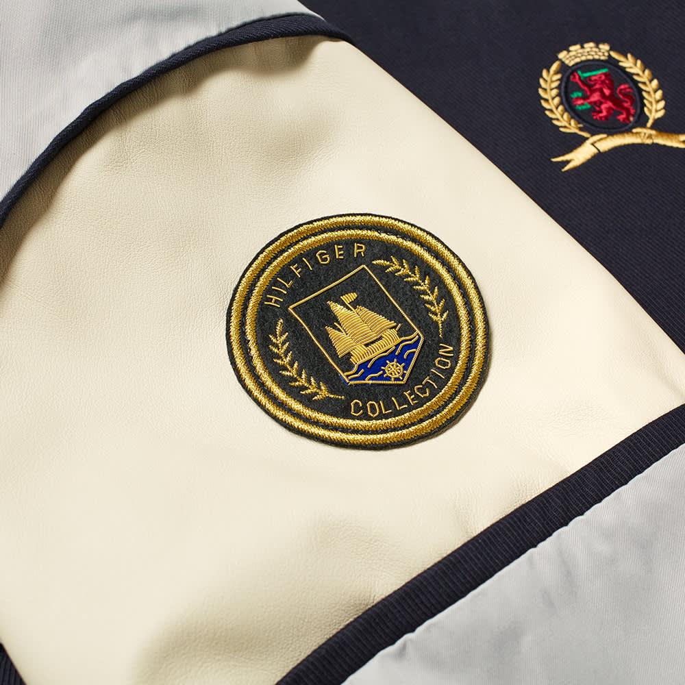 Hilfiger Collection Nautical Varsity Jacket - Sky Captain